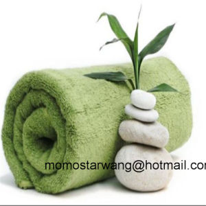 Soft Wholesale Bamboo/Cotton Bath Towel pictures & photos