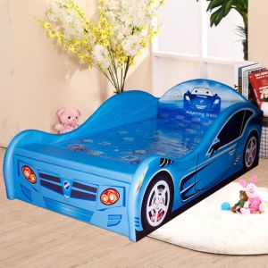 New Design Luxury PU Leather Car Children Bed pictures & photos