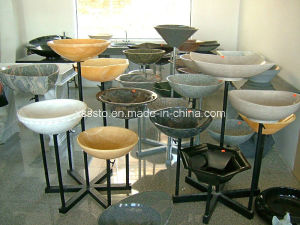 High Polished Customized Marble Bathroom Sink pictures & photos