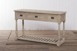 High-Quality and Simplicity Console Antique Furniture pictures & photos