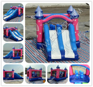 Water Slide Pool Bounce House Inflatable Moon Bouncer Jumper B2215 pictures & photos