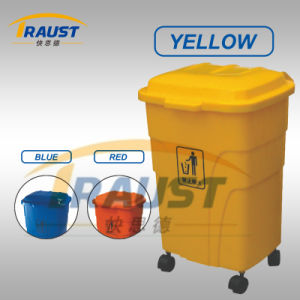 Garbage Dustbin with Wheel From China Top Supplier pictures & photos