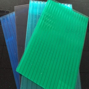 New UV Protection Plastic Commercial Used Polycarbonate Sheet Greenhouse for Flowers pictures & photos