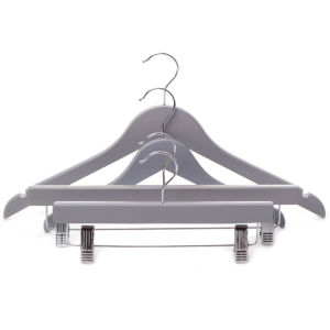 Gloryhanger Skirt Hanger with Clips, Top Hanger and Bottom Hanger Wholesale pictures & photos