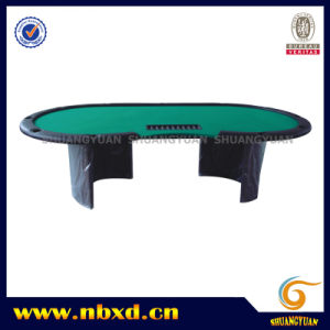Poker Table for 11 Person with Wooden Leg (SY-T18) pictures & photos