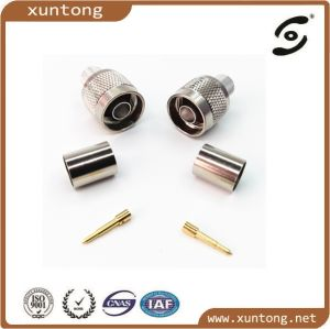 N Type Male Crimp Plug Connector for LMR400 Rg8 pictures & photos