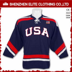 2017 Russian Blank Cheap Hockey Jerseys Wholesale pictures & photos