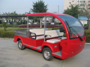Electric Sightseeing Bus Tablet 4seat Bus with Tablet Cargo pictures & photos