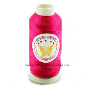 100% Polyester 150d/2 Embroidery Thread pictures & photos