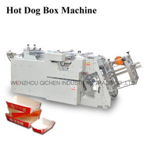 Disposable Paper Lunch Box Forming Machine (QH-9905)