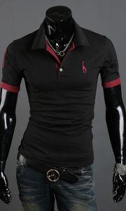Wholesale Man Golf 100% Cotton Polo T Shirt for Men (A305) pictures & photos