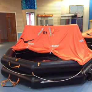 Ship Throw-Overboard Inflatable Life Raft with Solas/Med Certification pictures & photos