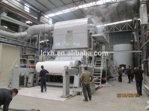 Single Cylinder Shaped Pressure Cylinder Tissue Paper Machine