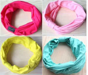 New Variety of Wear Method Cotton Elastic Sports Headband pictures & photos