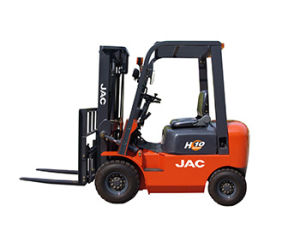 Small 2 Ton Diesel Forklift Truck 1.8t with Japan Isuzu C240 Engine pictures & photos