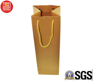 Natural Kraft Paper Bag, Shopping Bags, Blank Kraft Carrier Bag pictures & photos