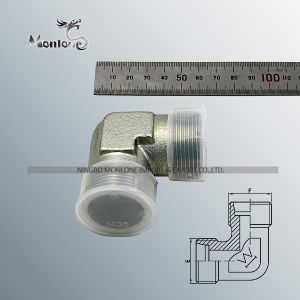 Stainless Steel Eaton Parker BSPT Thread Hydraulic Fitting Adapter pictures & photos