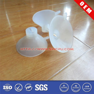 Customized Transparent Rubber Suction Cup/ Sucker with Metal Screw and Nut pictures & photos