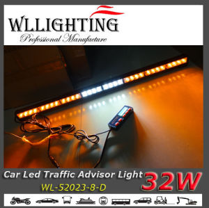 Amber White Dual Colors LED Traffic Directional Warning Light pictures & photos