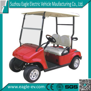 Electric Golf Carts, 4 Seats, CE Certificate, Made in China, Factory Supply, 4kw 48V Motor, AC Motor, Plastic Body, Eg2026k pictures & photos