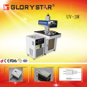 Popular Plastic UV Laser Marking System pictures & photos