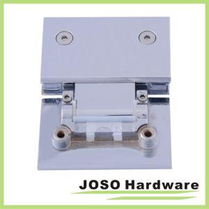 Polished Chrome Adjustable Wall Mount Full Back Plate Hinge pictures & photos