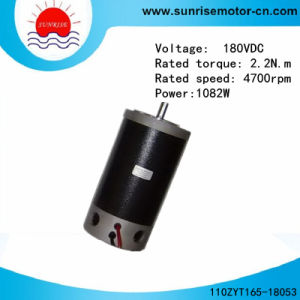 110mm 2.2n. M Round High Voltage Outside Brush PMDC Motor pictures & photos