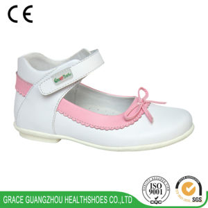 Grace Ortho Girl′s School Shoes pictures & photos