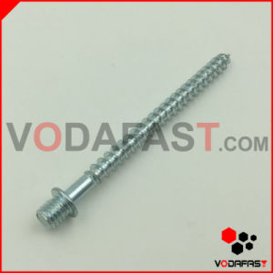 Double End Screw with Machine and Wood Thread pictures & photos