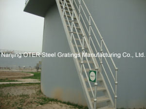 Hot Dipped Galvanized Steel Pipe Tube Handrail pictures & photos