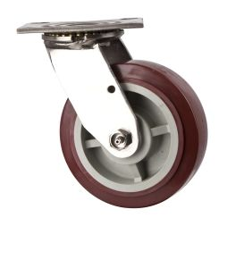 Heavy Duty Swivel and Fixed Duty with PU Trolley Wheel Industrial Caster pictures & photos