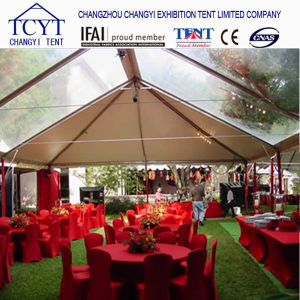 1000 People Clear Roof Marquee Event Tent with Giant Orange PVC pictures & photos