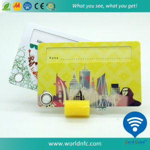Logo Printing Travel/Airline PVC Hole Punching Luggage Cards pictures & photos