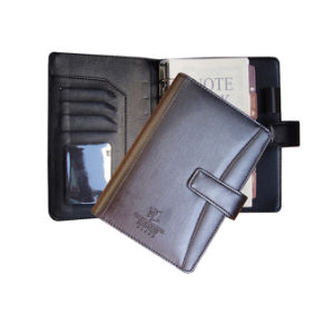 New Arrival A5 Loose Leaf Leather Notebook for Office Use pictures & photos