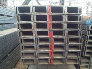 JIS Standard U Channel Steel Beam for Building Material pictures & photos