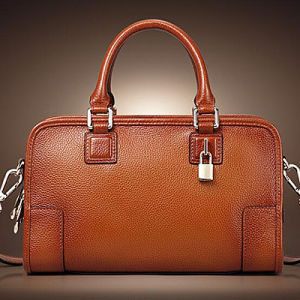 Italian Matching Bags Ladies Genuine Cow Leather Handbags (EMG4304) pictures & photos