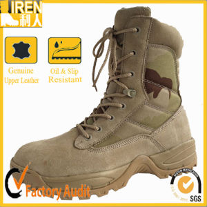 8 Inch Side Zipper Military Desert Boots pictures & photos