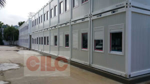 Prefab House / Mobile House / Modular House / Steel Structure House / Assembly House with Offshore Accommodation (CILC-Prefab House 001) pictures & photos