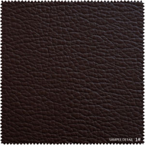 Top Sell PU Furniture PU Leather Lychee Semi PU for Bags (BB006) pictures & photos