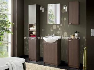 MDF Bathroom Cabinet with Ceramic Basin pictures & photos