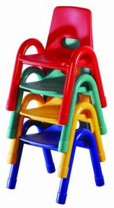 Modern Colorful and Stackable Fashion Chair for Kindergarten School pictures & photos