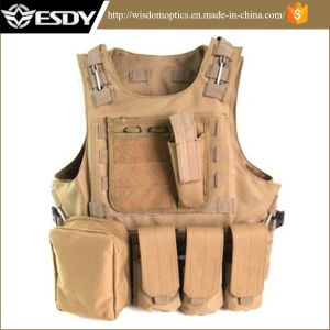 Airsoft Tactical Soft Gear Vest Military Combat Army Vest pictures & photos