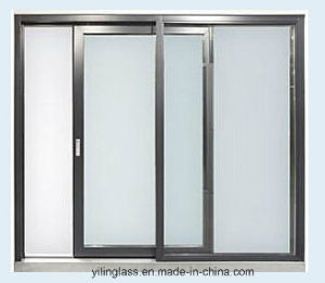 Heat Reflective Glass Energy-Saving Aluminum Sliding Window pictures & photos
