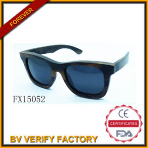 Alibaba Trade Assurance Wooden Fudan Sunglasses (FX15052) pictures & photos