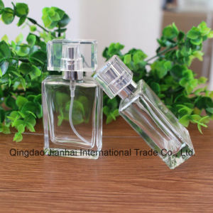 30ml Transparent Glass Bottle for Perfume with Acrylic Lids pictures & photos