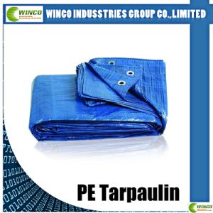 Hot Sale Waterproof Reinforced Readymade 6X12 PE Tarpaulin pictures & photos