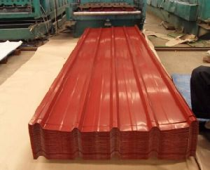 Red Color Galvanized Steel Plate for Roof for House Building pictures & photos