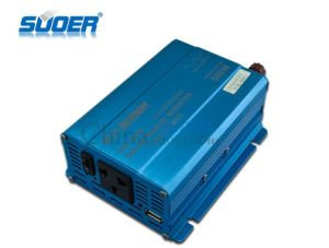 Suoer Factory Price Inverter 500W DC 24V to AC 230V Power Inverter (SRF-500B) pictures & photos