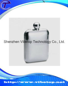 Sublimation Stainless Steel Flagon Made in China pictures & photos