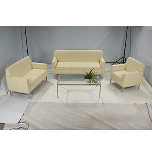 Barcelona Sectional Sofa Set Classic Leather Office Furniture (FS-102) pictures & photos